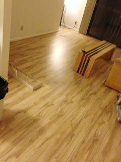 How We Put Hardwood Over Carpet Messymom
