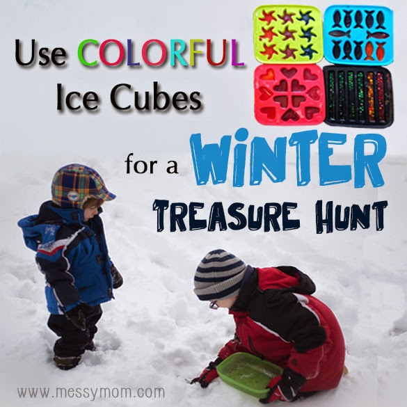 Ice Cube Treasure Hunt