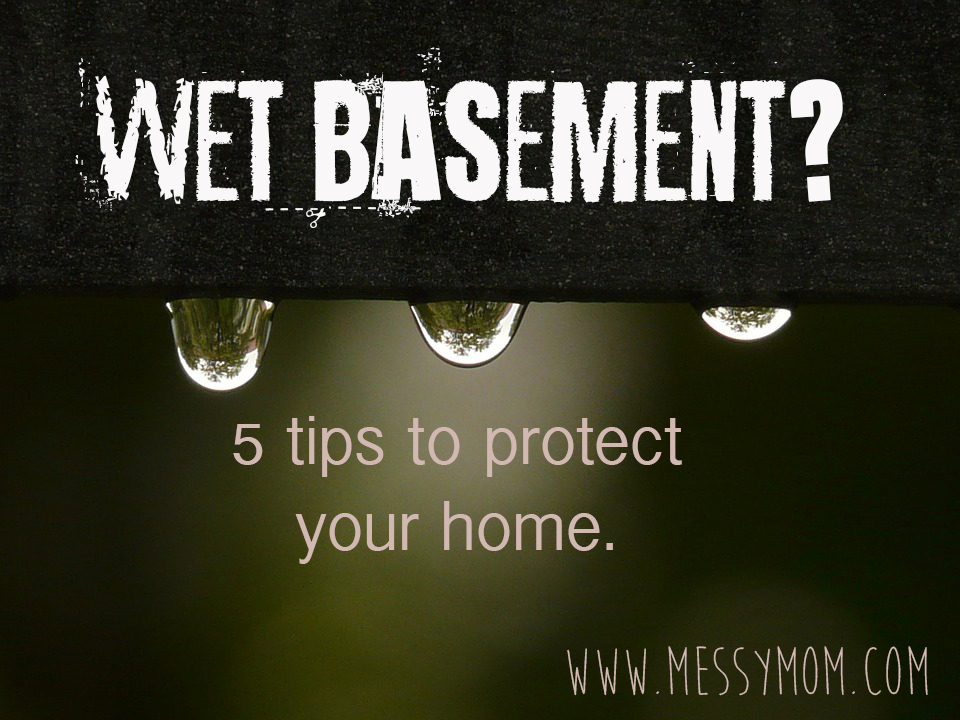 wet basement tips