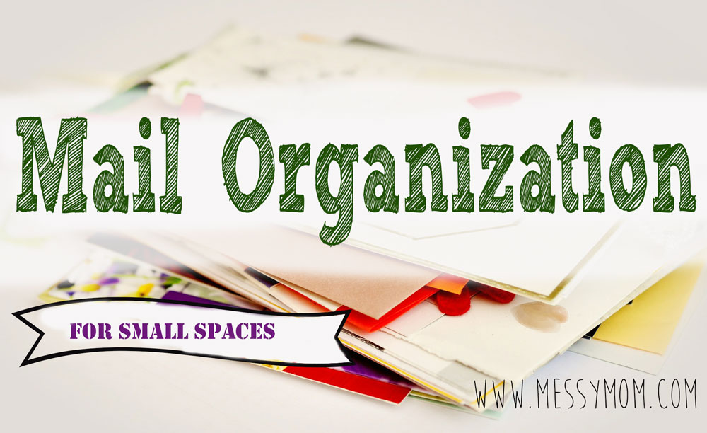 Tips for mail organization