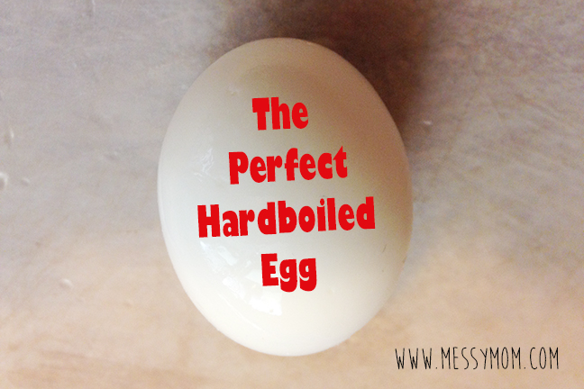 The perfect hardboiled egg