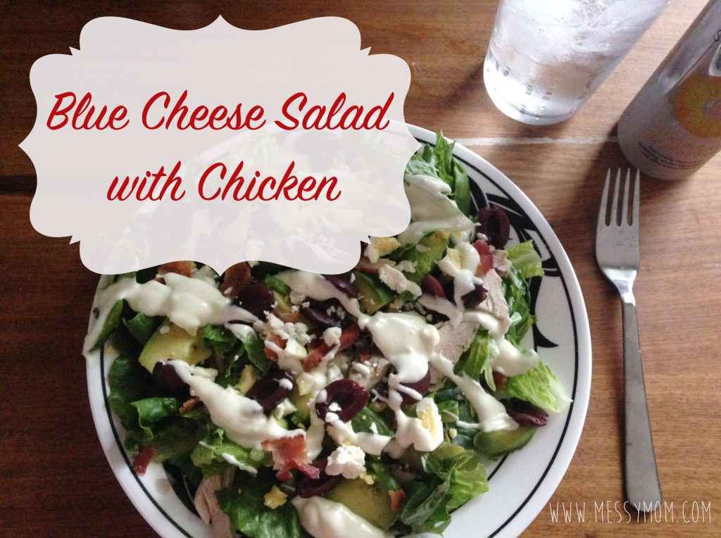 Blue Cheese Salad with Chicken